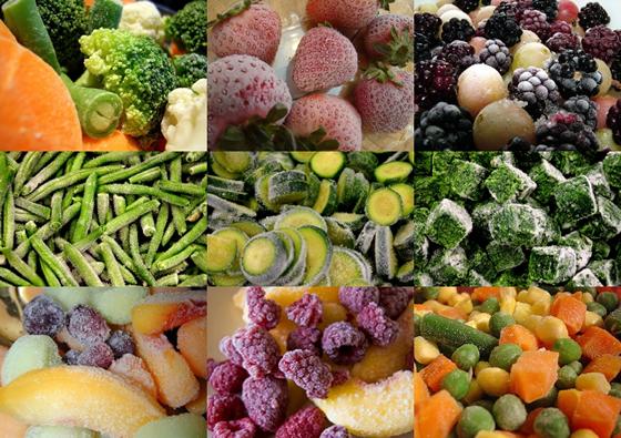 Виробництво заморожених фруктів та овочів