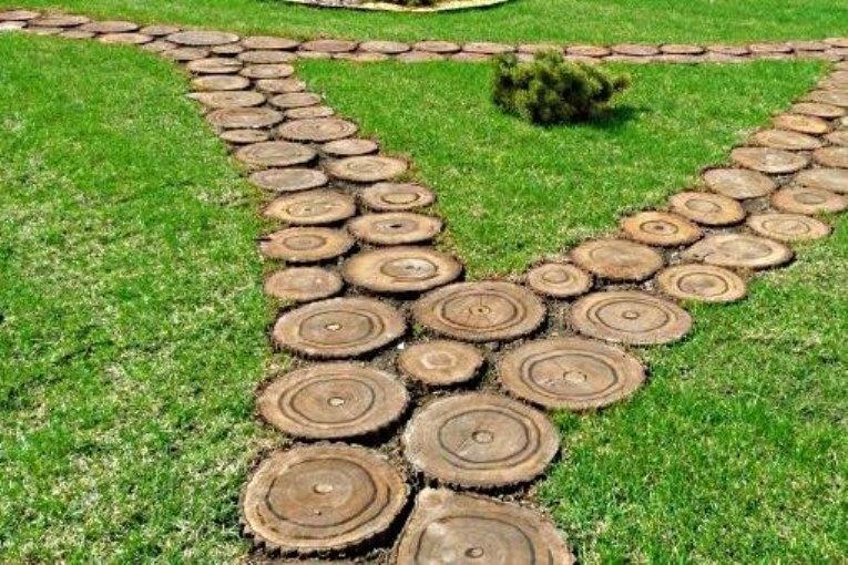 Бізнес ідея: Садові доріжки з дерева