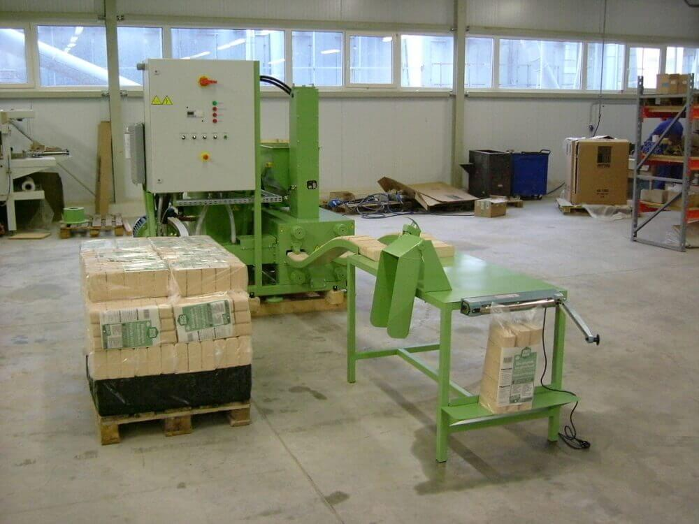Приміщення та обладнання для виробництва паливних брикетів